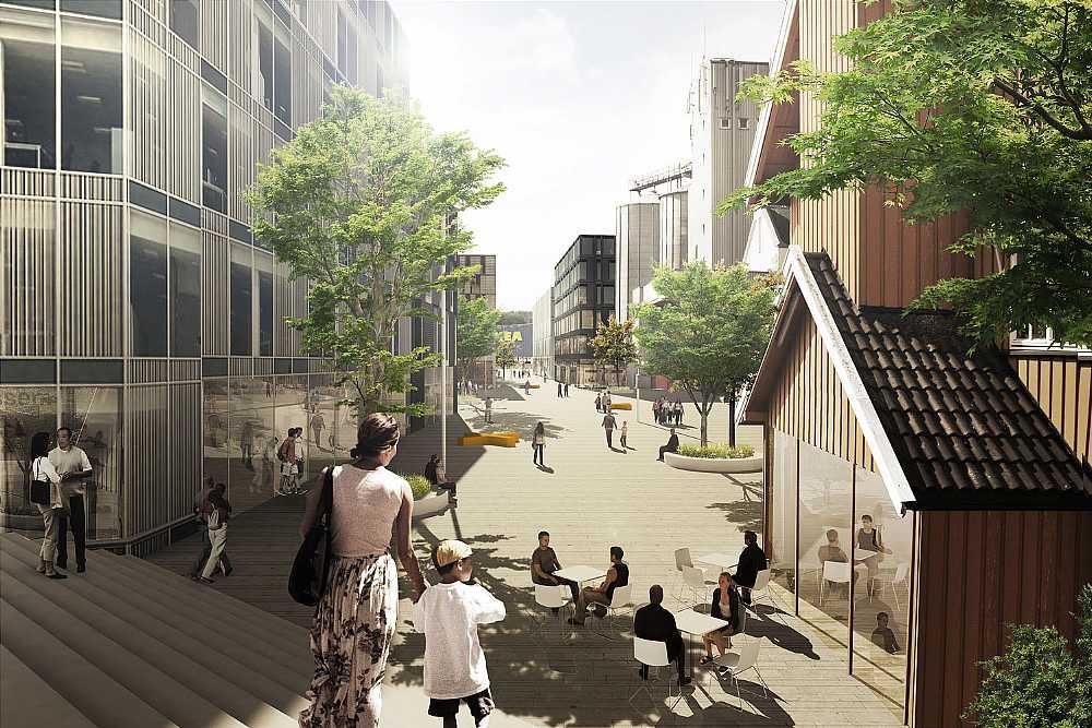 <b>挪威Vestby镇城市中心规划方案</b>