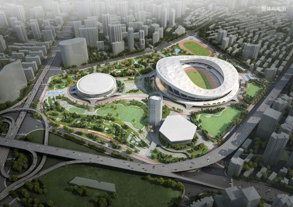 <b>上海徐家汇体育公园规划方案 / HPP Architects</b>