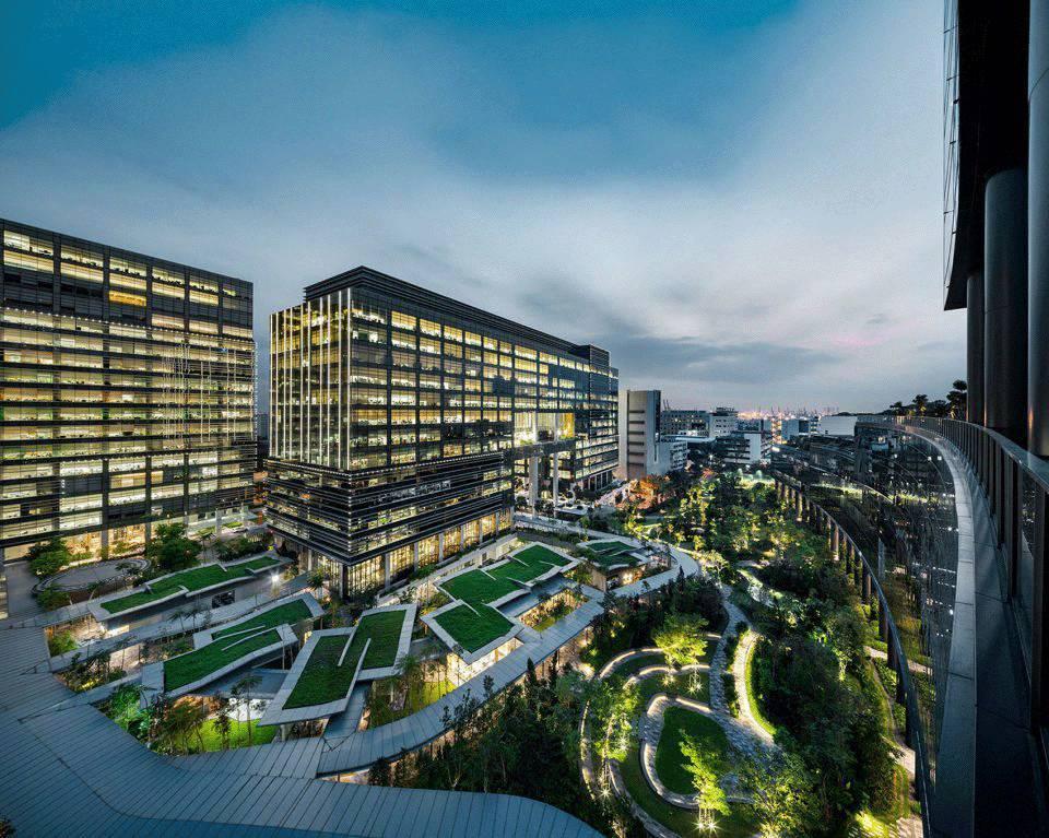 丰树商业城二期景观设计,新加坡