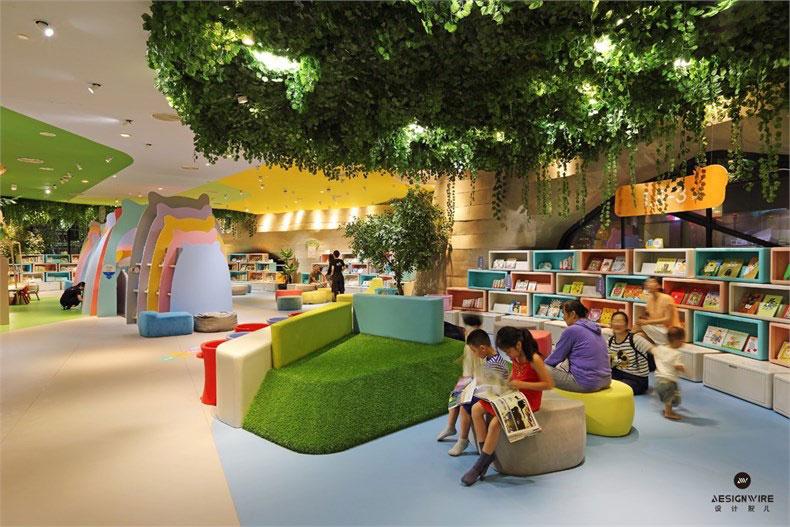上海兜兜儿童中心绘本馆设计