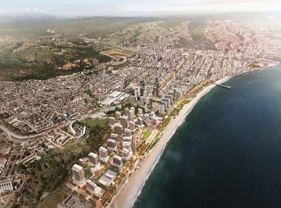 Las Salinas开发区规划,智利 / Sasak