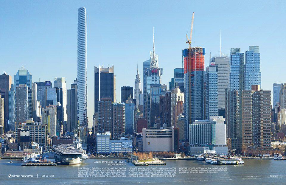 <b>265 W 45th ST 办公塔,美国纽约/ RB Systems</b>