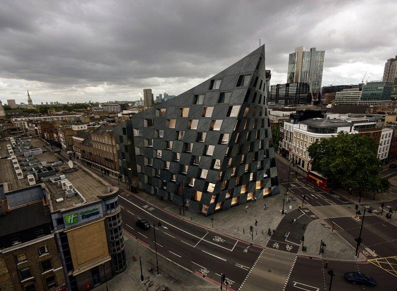AQSO Arquitectos为伦敦设计的Shoreditc