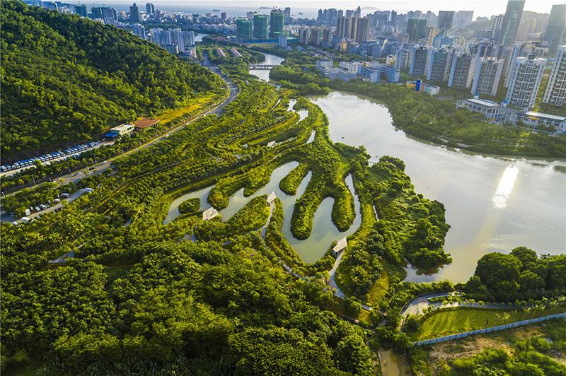 三亚红树林生态公园景观设计 | 土