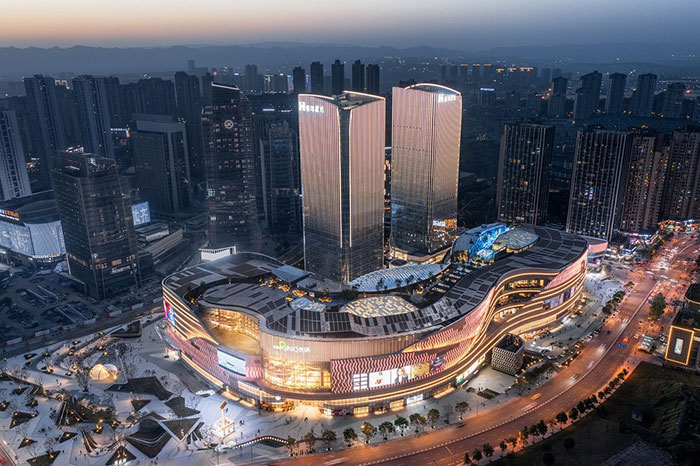 香港置地重庆光环The Ring购物公园